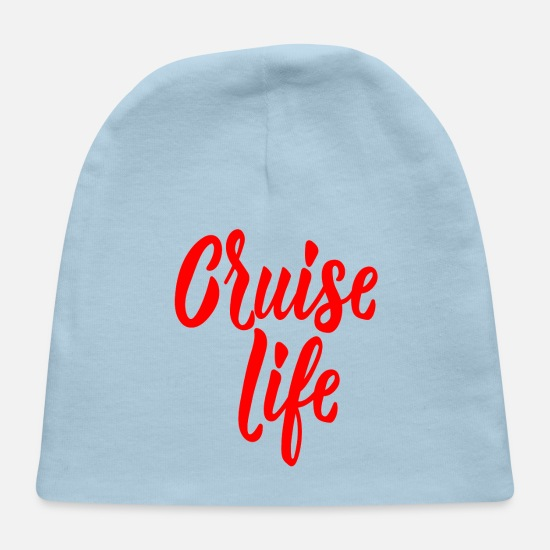 Caribbean Baby Caps - Cruise Life - Baby Cap light blue