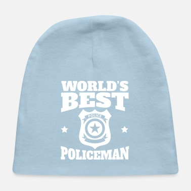 Policeman World's Best Policeman Graphic - Baby Cap