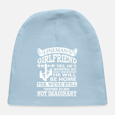 Girlfriend Lineman Girlfriends Shirts - Baby Cap
