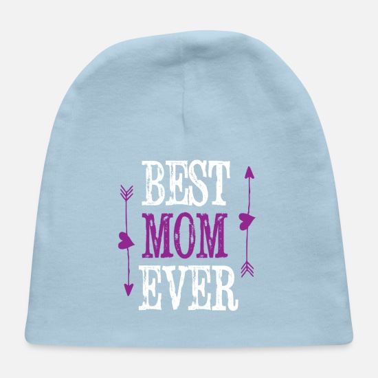 Baby CapBEST MOM EVER Mom Shirts Birthday Gifts