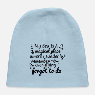 Bed Bed is a - Baby Cap