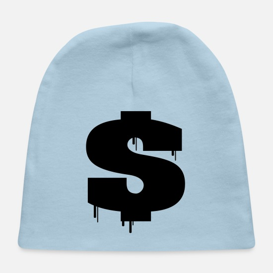 Rich Baby Caps - Dripping Dollar - Baby Cap light blue