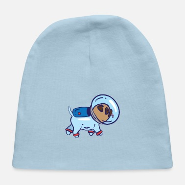 Spacesuit Dog in spacesuit - Baby Cap