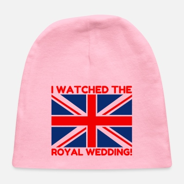 Wedding I Watched the Royal Wedding - Baby Cap
