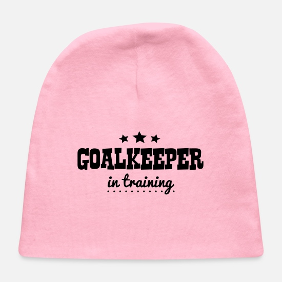 Goalkeeper Baby Caps - goalkeeper in training - Baby Cap light pink