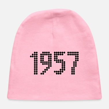 1957, Numbers, Year, Year Of Birth - Baby Cap