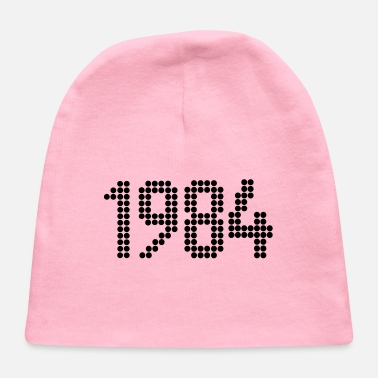 1984, Numbers, Year, Year Of Birth - Baby Cap