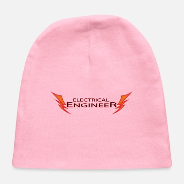 Electricity electrical engineer text, electric engineering - Baby Cap