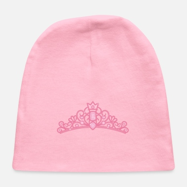 Jewel Elegant Pink Princess Tiara Crown - Baby Cap