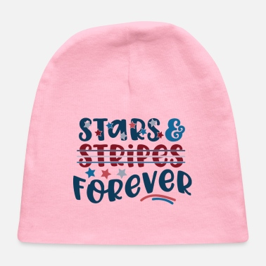 Stars And Stripes Stars and Stripes Forever - Baby Cap