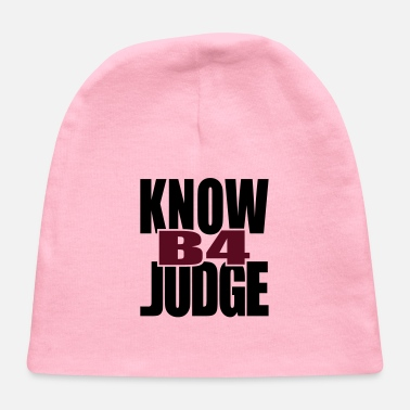 Tlc Know Before Judge - Baby Cap