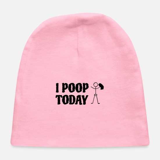 Meme Baby Caps - i pool today - Baby Cap light pink