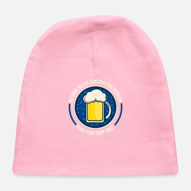 Water Conserve Water - Baby Cap