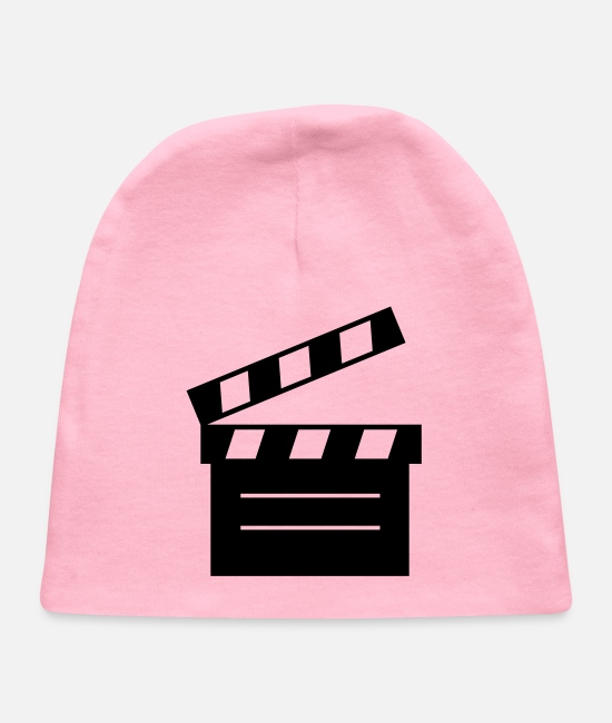Movie Baby Hats - movie - Baby Cap light pink