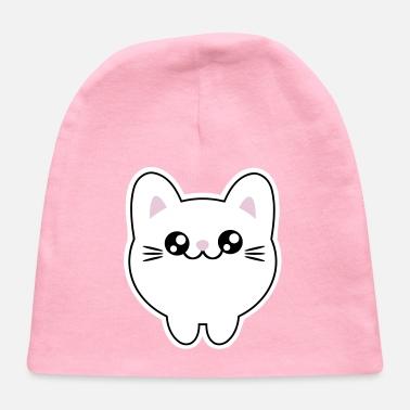 2abb0b08fb1a5 Cute Kawaii Anime Japan Style cat kitten Organic Short-Sleeved Baby ...
