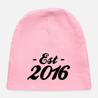 Established established 2016 - Baby Cap