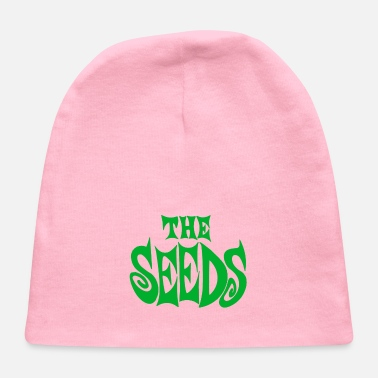 the seeds band logo - Baby Cap