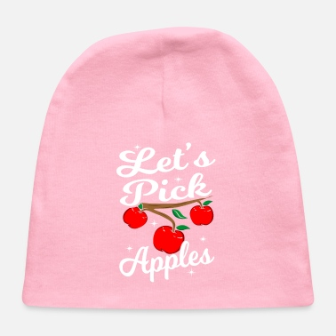 Bite Apple Lover Fruit Gift Idea - Baby Cap