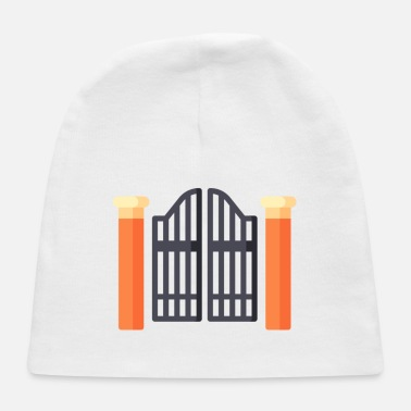 Gate gate illustration - Baby Cap