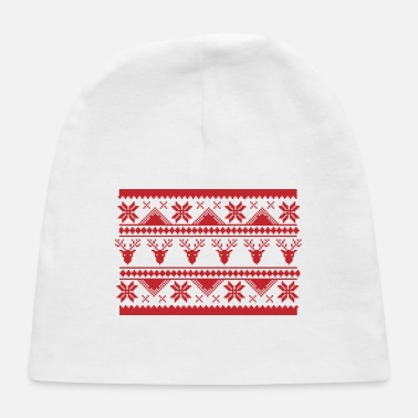 Christmas Ugly Christmas Sweater - Baby Cap
