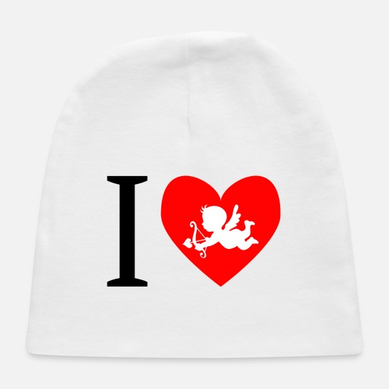 Love Baby Caps - cupid - Baby Cap white