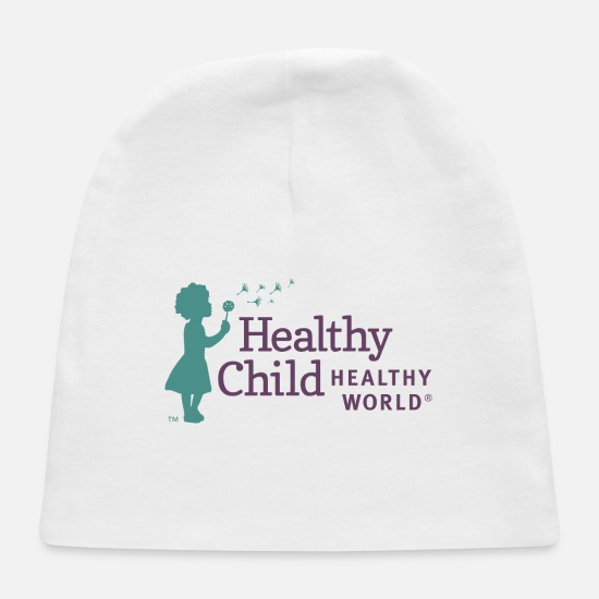 Healthy Living Baby Caps - Healthy - Baby Cap white