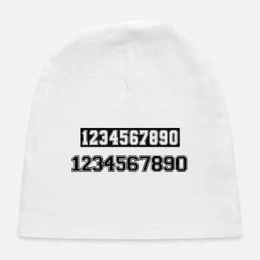 Number game number - Baby Cap