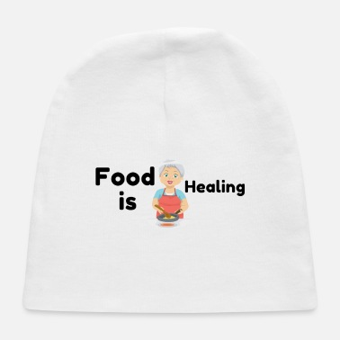 Healing Food is Healing - Baby Cap
