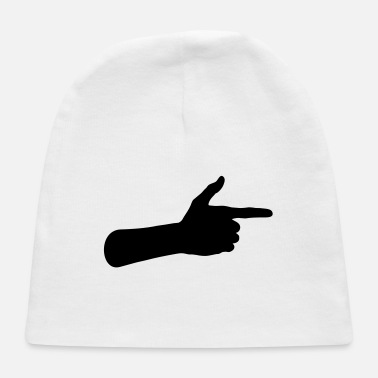 Pointing Finger Pointing Finger - Baby Cap