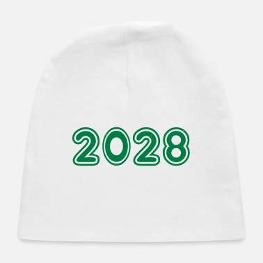 2028, Numbers, Year, Year Of Birth - Baby Cap