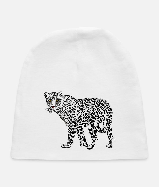 Nature Baby Hats - Jaguar - Baby Cap white