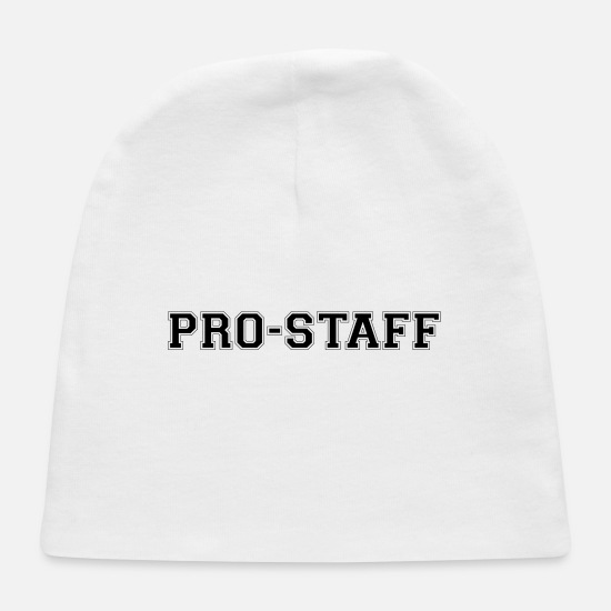 Bass Baby Caps - Pro Staff Wordmark - Baby Cap white
