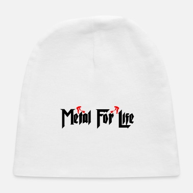 Metal For Life number 1 - Baby Cap