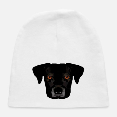 Dogowner Cute polygonic geometric Dog design gift - Baby Cap