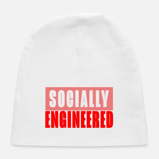 Controller Baby Caps - Socially engineered - Baby Cap white