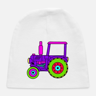 Toy toy tractor / toy tractor pink - Baby Cap