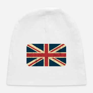 Grungy Grungy British Flag - Baby Cap
