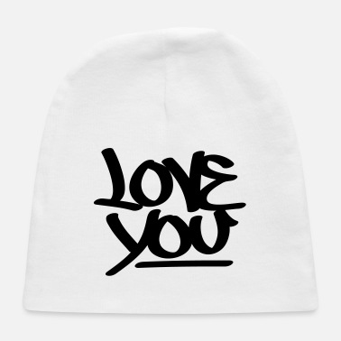 Love You Love You - Baby Cap