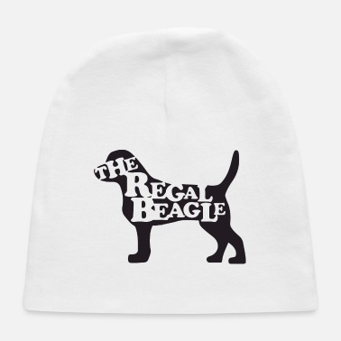 Funny Animals the beagle is here - Baby Cap