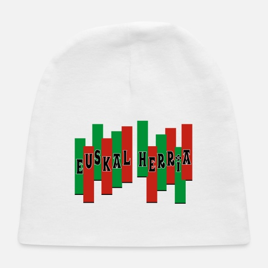 Country Baby Caps - Pays Basque - Baby Cap white