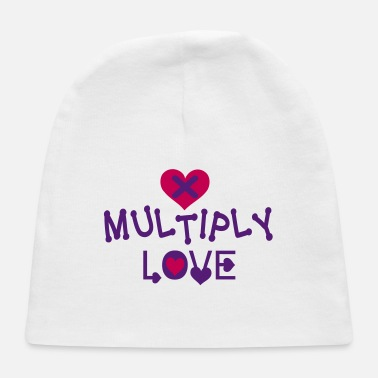Lovely Ⓧ❤Multiply Love-Fun Inspirational Love Design - Baby Cap