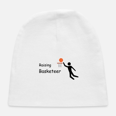 Basket Raising Basketeer Basket Ball Artwork - Baby Cap