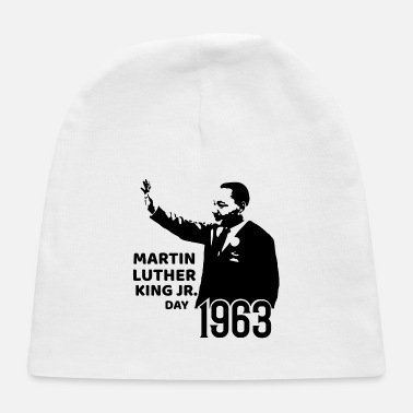 Martin Luther King, Jr. Day T shirt MLk Tee - Baby Cap