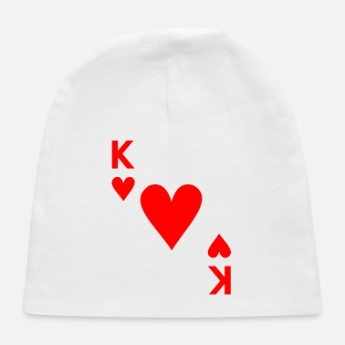 Cards Card Game Card Heart King - Baby Cap