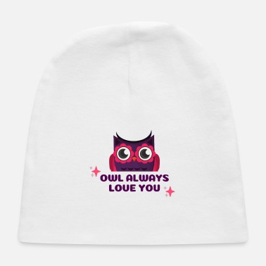 Occasion Owl Valentine's Occasion - Baby Cap