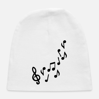 Music music note - Baby Cap