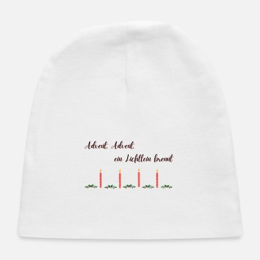 Advent Advent Candles - Christmas Advent - Baby Cap