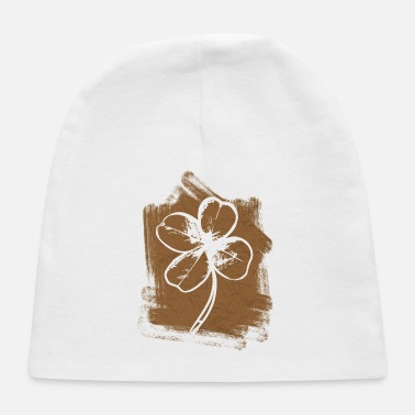 Superstition Four-leaf clover lucky charm superstition - Baby Cap