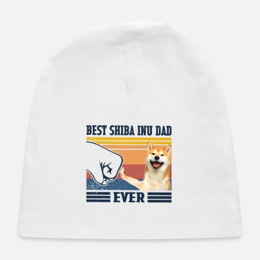 Best Shiba Best Shiba Inu Dad Ever Fathers Day Gift Best Shib - Baby Cap