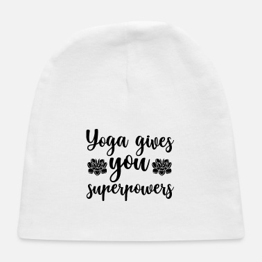 Satire Yoga gives you superpowers - Baby Cap